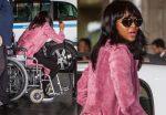 Известная модель Наоми Кэмпбелл оказалась наинвалидной коляске