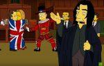 «Симпсоны» почтили память Дэвида Боуи иАлана Рикмана