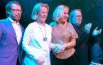 Участники АВВА собрались совместно впервый раз запоследние 8 лет