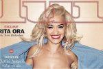 Эстрадная певица Рита Ора снялась топлес для обложки журнала «Lui»