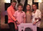 Татьяна Навка и глава пресс-службы России особенно отметили День влюбленных