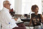 Рианна создала «джинсовые» туфли для Manolo Blahnik