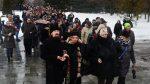 НаТроекуровском кладбище началось прощание сНатальей Крачковской