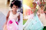 Бейонсе обнародовала фото содня рождения дочери