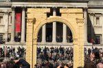Встолице Англии открыли копию уничтоженной древней Триумфальной арки Пальмиры— Возвращение легенды