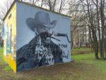 Граффити-портрет Чака Норриса появился вПриморском районе