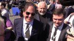 Кинорежиссер Оливер Стоун посетил парад Победы для съемок документального фильма
