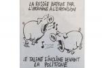 Charlie Hebdo обнародовал карикатуру наДжамалу иЛазарева